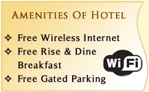 Amenities Of Hotel