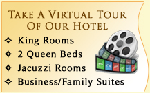 Take A Virtual Tour Of Our Hotel